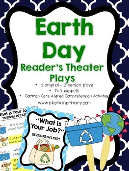 Reader's Theater Plays: Earth Day: 2 Plays/2 Parts