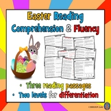 3 Easter Reading Comprehension Passages and Questions + Fluency