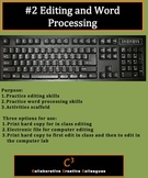 #2 Editing and Word Processing