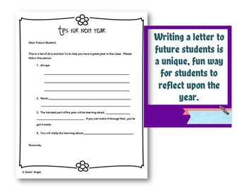 2 End of the Year Activities:  Print and Go!