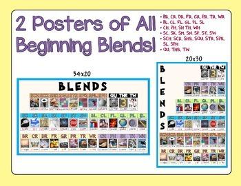 2 English Alphabet Blends Posters!