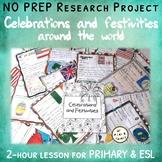 Celebrations & festivities around the world – NO PREP Research project