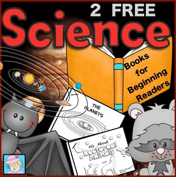 2 FREE Science Books for Beginning Readers