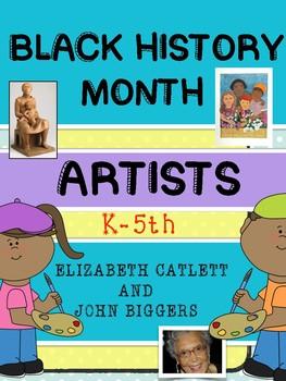 Black History Month: African American Artists - John Biggers & Elizabeth Catlett