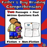 Father's Day Reading Comprehension Passages