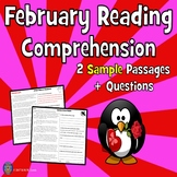 2 Fiction February Reading Comprehension Passage SAMPLE: Two Levels
