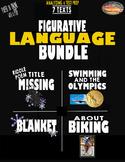 SBAC Test Prep~ Fig. Language ~ 6 Texts: 4 Poems & 2 Texts BUNDLE ~ ONLINE & PDF