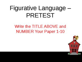 2 Figurative Language-PowerPoint-Complete Teacher Lesson-Activities-Assessment