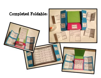 2 Foldable Projects: Tackling Text Structures & Supporting the CCCS