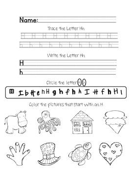 2 Free Alphabet Worksheets :)