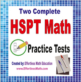 2 Full-Length HSPT Math Practice Tests