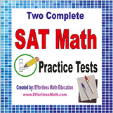 2 Full-Length SAT Math Practice Tests