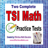 2 Full-Length TSI Math Practice Tests