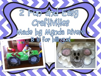 2 Fun and Easy Craftivities
