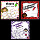 Second Grade Math Task Cards Bundle- 2.G.1, 2.G.2, and 2.G.3