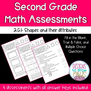 2.G.1. Assessments- Shapes and their Attributes