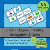 2.G.1 Task Cards: Shapes Task Cards 2.G.1: Identify, Recognize & Draw Shapes 2G1