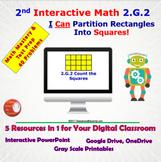 2.G.2 Math Interactive Test Prep – 5 Resources in 1: Parti