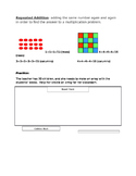2.G.2 Partitioning Rectangles & 2.OA.4 Arrays Study Guide