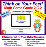 2.G.2 THINK ON YOUR FEET MATH! Interactive Test Prep Game—