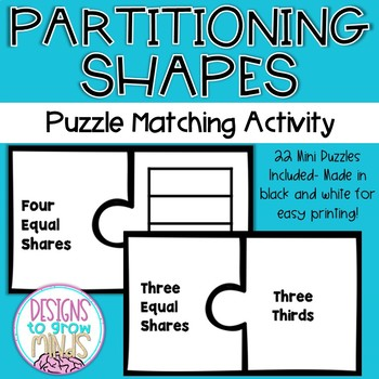 2.G.3 Puzzle Matching Activity