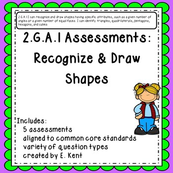 2.G.A.1 Assessments - Recognize & Draw Shapes