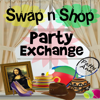 SWAP n SHOP PARTY EXCHANGE *Engaging Activity* RePurpose & Spring Cleaning Idea!