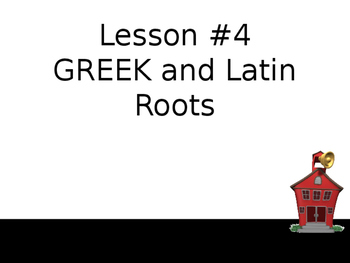 Greek and Latin Roots-Complete Teacher Lesson With Activities and Assessments