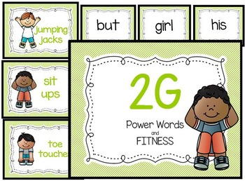 2 Green Power Words and Fitness