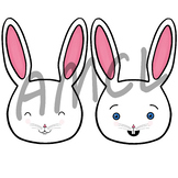 Happy Bunny Illustrations