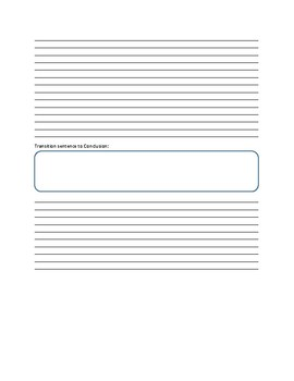 Informative Writing Essay Template
