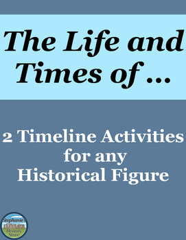 2 Historical Figure Timeline Activities