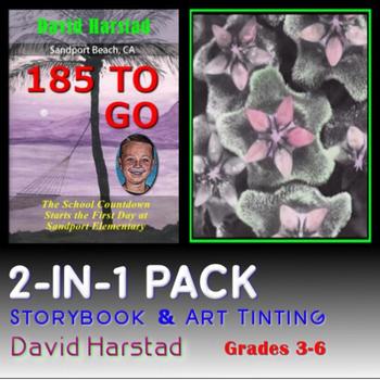 2-IN-1  Storybook & Art Tinting Printable