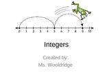 2) Integer Addition & Subtraction (Complete PPT Lesson)