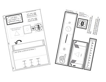 Interactive Math Notebooks: Interactive Mini-Books for Numbers 1-10 & 11-20