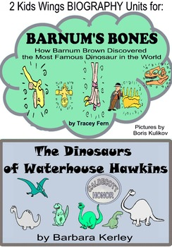 Barnum's Bones Plus with Waterhouse Hawkins, Biography Units for ARCHAEOLOGISTS!
