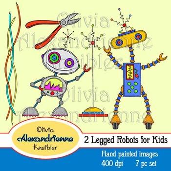 2 Legged Robots for Kids