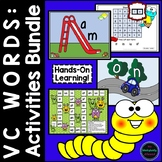 VC Words Activity Bundle for Beginning and Struggling Readers