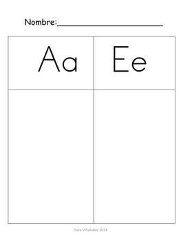 2 Letter word sort maps in Spanish