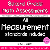2.MD.1, 2.MD.2, 2.MD.3, 2.MD.4, and 2.MD.5 Assessments Bundle