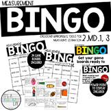 2.MD.1, 2.MD.3 | Measurement BINGO game