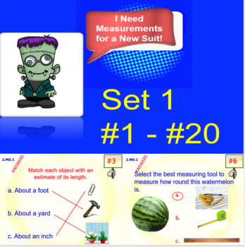 2.MD.1 Math Interactive Test Prep – 5 Resources in 1: Tools for Measurement