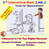 2.MD.1 Math Interactive Test Prep – 5 Resources in 1: Tool