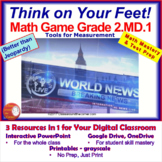 2.MD.1 Interactive Test Prep Game - Jeopardy 2nd Grade Mat