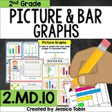 2.MD.10 Graphing Unit, Bar Graphs and Picture Graphs 2.MD.D.10 - 2nd Grade Math