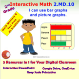 2.MD.10 Math Interactive Test Prep: Bar / Picture Graphs i
