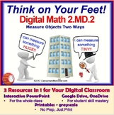 2.MD.2 Interactive Test Prep Game - Jeopardy 2nd Gr Math: