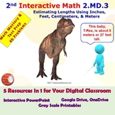 2.MD.3 Math Interactive Test Prep: Estimate Lengths - in 3