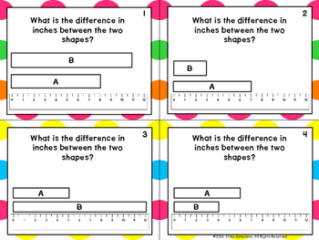 2.MD.4- Comparing and Finding Differences with Inches and Centimeters