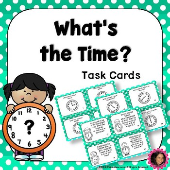 2.MD.7 Task Cards- Telling Time